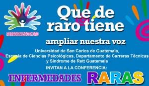Conferencia sobre enfermedades raras